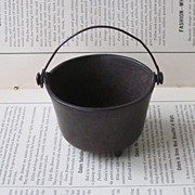 Cast Iron Salesman Sample Pot Cookware