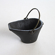 Coal Bucket Miniature Salesman Sample