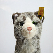 REDUCED Steiff Sissi Cat Kitten Vintage Tag 2726/17