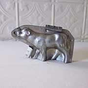 Antique Chocolate Mold Calf Cow Letang Fils