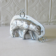 Sheep or Ram Chocolate Tin Mold Walking