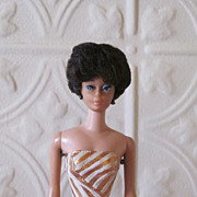 REDUCED Bubble Cut Barbie 1963 Fashion Queen Swimsuit, Clothes and Accessories