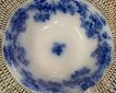 19th Century Flow Blue Serving Bowl:New Wharf Pottery: Lancaster