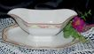 Gravy Boat with attached Under Plate:W. H. Grindley: &quot;The Excelsior&quot;