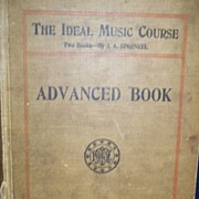 "SOLD Vintage Children's Music Book: 1895: ""The Ideal Music Course"""