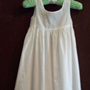 SOLD Vintage Hand-sewn Children's Cotton Slip