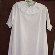 SOLD Vintage Children's Christening Gown:19th Century