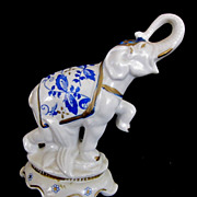 Royal Collection AGC Circus Elephant Porcelain Figurine