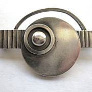 Rare Georg Jensen Brooch with Art Deco Design by Oscar Gundlach-Pedersen #230