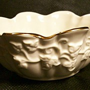Lenox Bowl ~ Grape Leaf Design