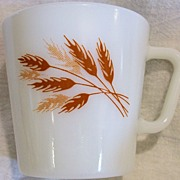 Pyrex Coffee Mugs/Cups (2) ~ Autumn Harvest