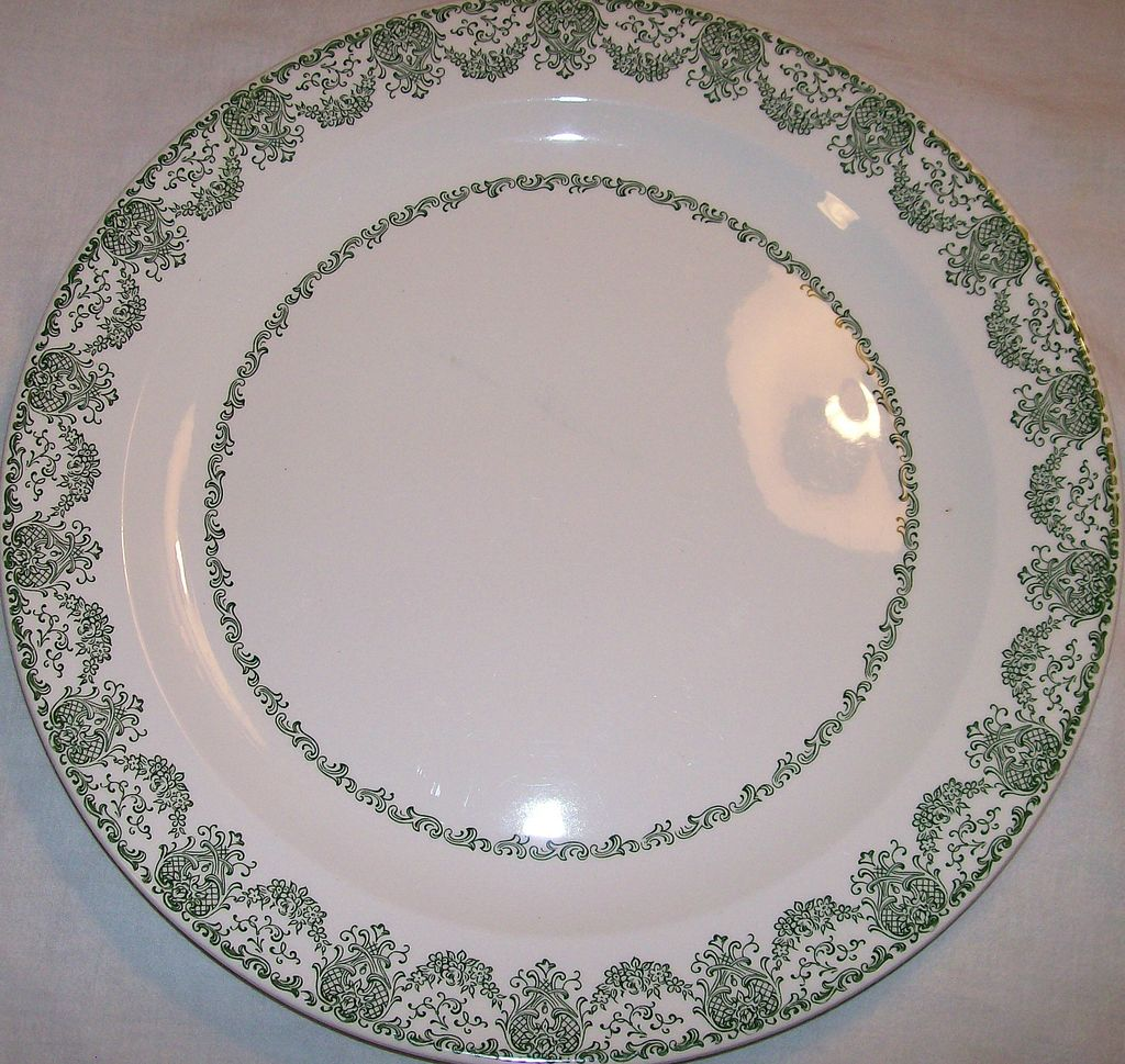 Cake Plate ~ Sandwich Plate ~ Royal China (USA) ~ '50's
