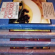 The Professional Caterer Series ~ Denis Ruffel ~ c. 1990 ~ 4 Volume Hardcover Set