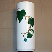 PoppyTrail ~ California Ivy ~ Metlox ~ 11&quot; Cylinder Vase