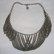 Bib Necklace ~ Collar Necklace ~  (unmarked)