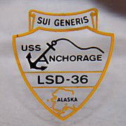 ZIPPO Lighter - USS Anchorage LSD-36 - c. 1980's