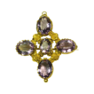 Glowing Georgian Amethyst Brooch/Pendant