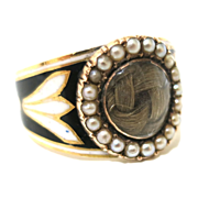 A Georgian Memorial Ring to Treasure