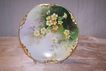 Delicate 'Yellow Primroses' Hand Painted by the Renown Late 19th Century Artist 'Emile Pouyat' Decorated on Fine Limoges Porcelain