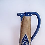 SALE Austrian Amphora Wingolf Ewer based on Russian Folk Art