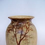 SALE Radford Vase with Tree Design from Burslem, England