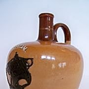 SALE Doulton Lambeth  1885 , Special Highland Whisky Jug