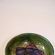SALE Beautiful Decorated Moorcroft Bowl