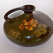 "SALE Lovely ""Standard"" Glaze Handled Vessel"