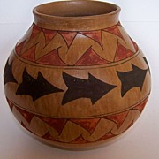 SALE Native American Vase from the Southwest