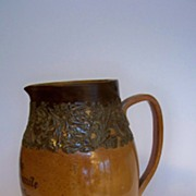 "SALE Doulton Lambeth 9 1/2"" Pitcher"
