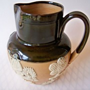 SOLD Doulton Lambeth Hunting Ware Pitcher