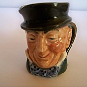SALE Royal Doulton Mr. Micawber Mini Character Jug