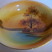 "SALE Noritake Tree in the Meadow 10"" Vegetable Bowl"