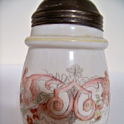 SALE Hand Painted Victorian Sugar Shaker