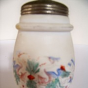 SALE Hand Painted Matte Finish Victorian Sugar Shaker
