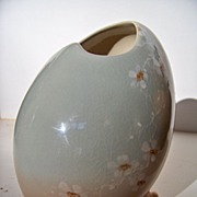 SALE Rookwood Egg Vase by Amelia Sprague