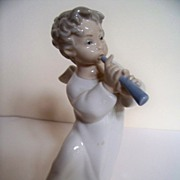 SALE Lladro Angel Figurine