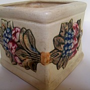 SALE Square Weller Pottery Planter