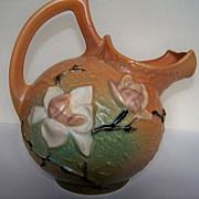 SALE Fine Roseville Magnolia Pitcher.