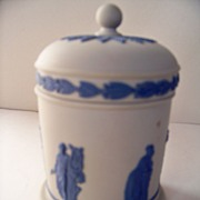SALE Wedgwood Reverse Covered Jar