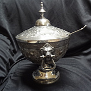 American Silverplated Tureen