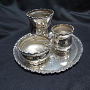 Smoking Set, Victorian