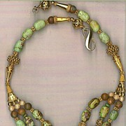 SALE Jack Orville Turquoise beads : Queen Green
