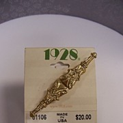 1928 Jewelry Bar Brooch