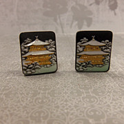 SOLD Toshikane Cuff Links Made in Japan