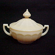 REDUCED Westmoreland 1776 Almond Covered Candy  Dish
