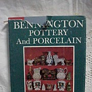 REDUCED Bennington Pottery and Porcelain Richard Carter Barret 1958