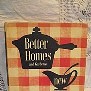 1950's Better Homes and Gardens New Cook Book
