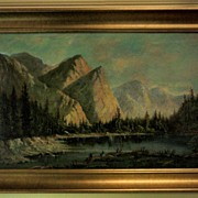 SOLD Outstanding California Oil Painting by Alexander M. Wood