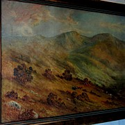 Fabulous Late 19th Century California Oil Painting by Alexander M Wood